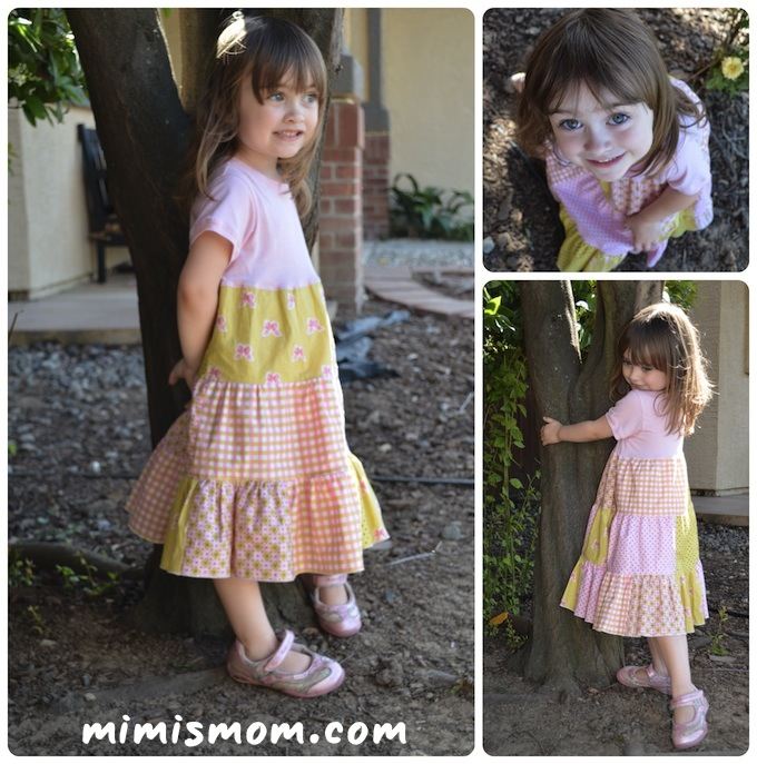 Ellie's Hopscotch Girl Dress