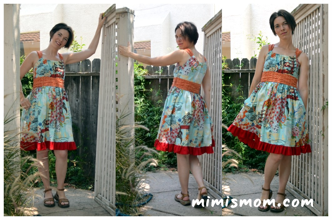 Jamie Dress Pattern by Sis Boom/Scientific Seamstress
