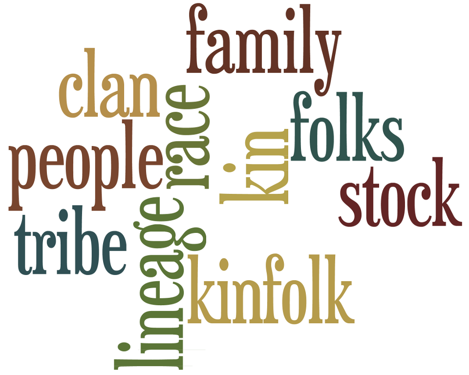 Family Word Art Printable