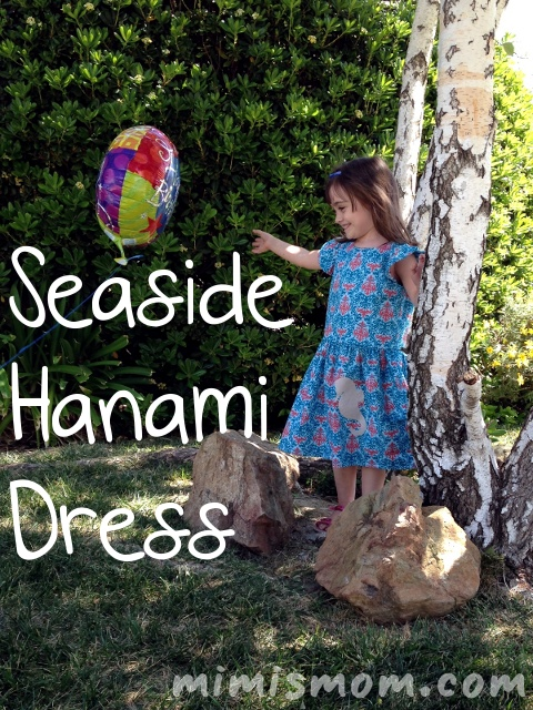 Seaside Hanami Dress - Mimi's Mom
