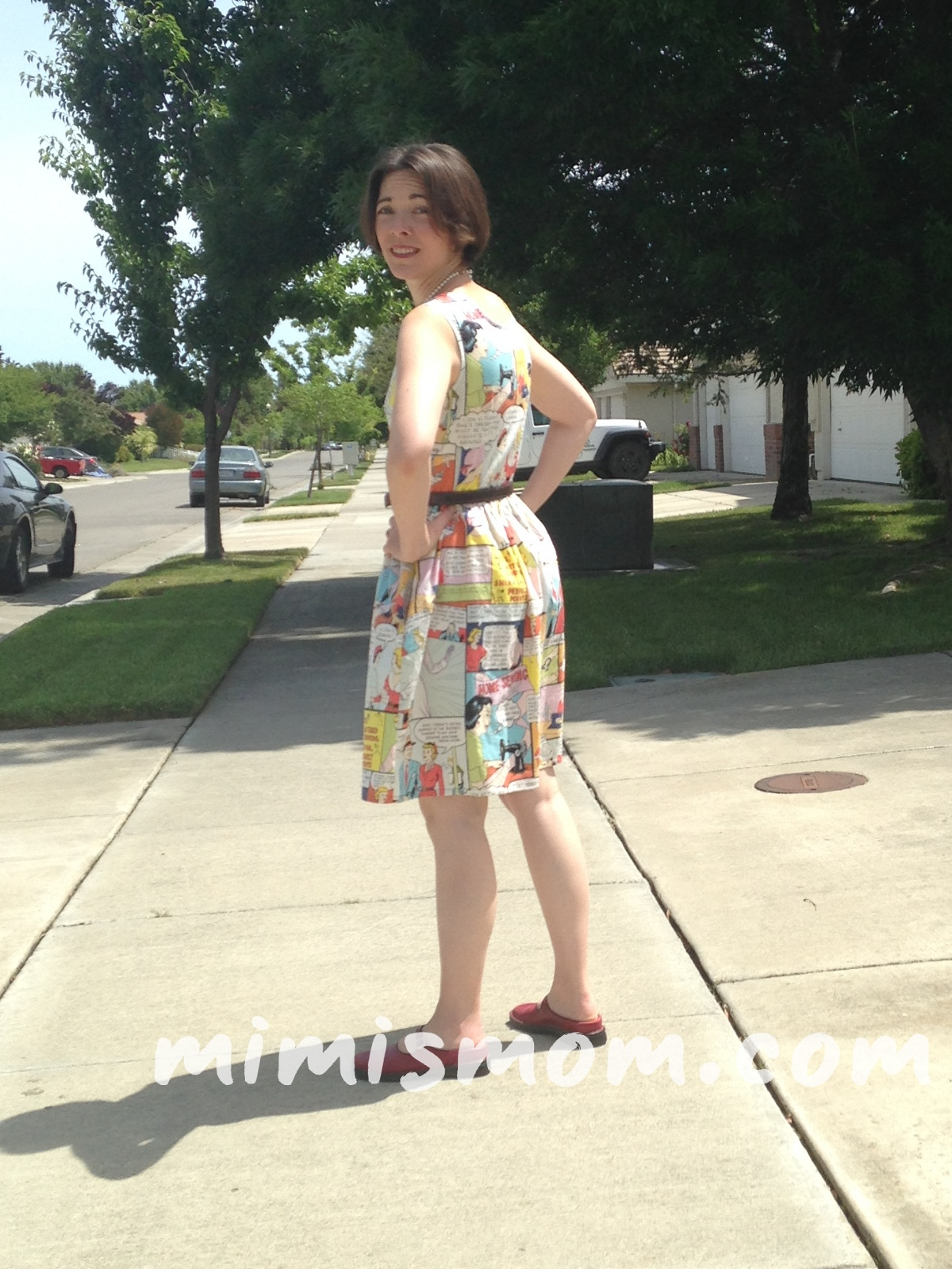 Home Sewing Angie Dress
