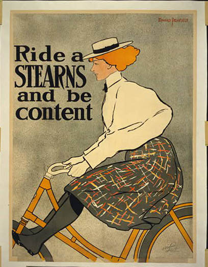 Vintage Bicycler - Riding on Bikes with Skirts