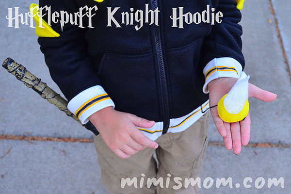 Hufflepuff Knight Hoodie - Perfect Pattern Parcel