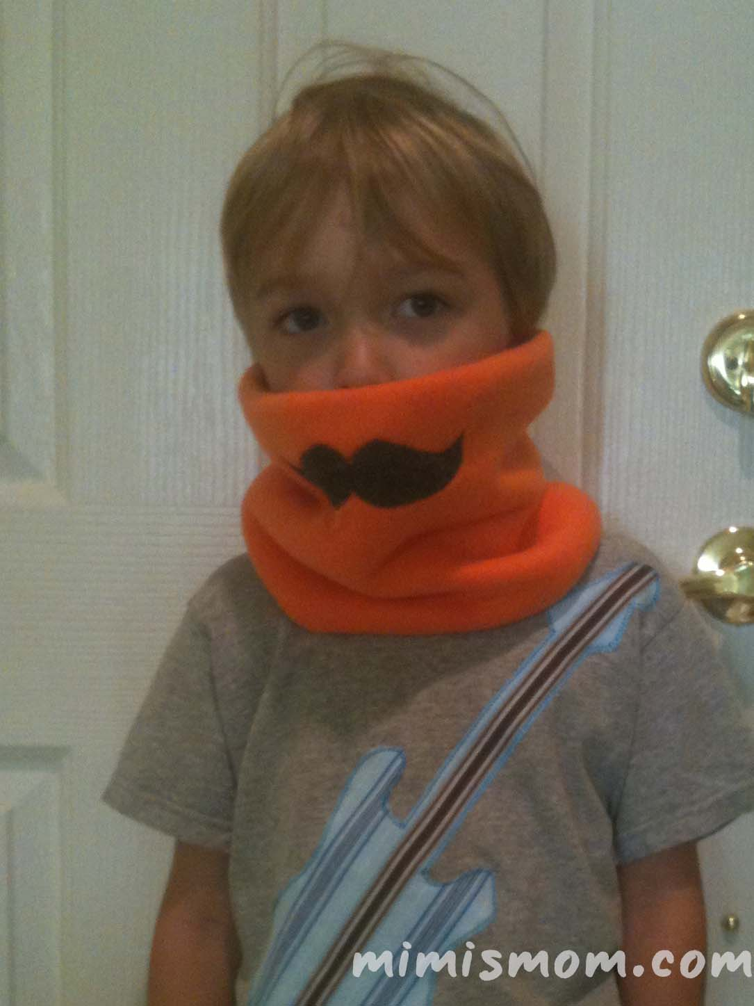 Mustache Cowl for Movember