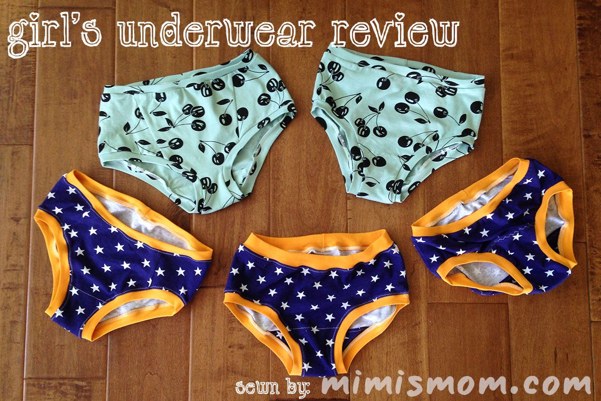 Girls Underwear Review - Mimi's Mom