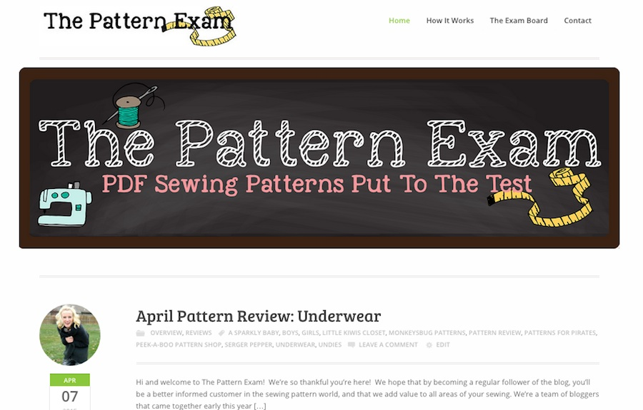 The Pattern Exam