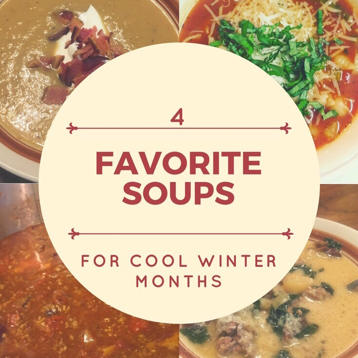 Favorite Soups For Cool Weather Months