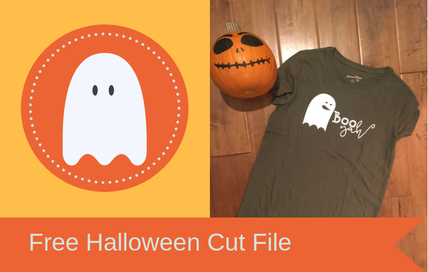 Free Halloween Ghost Cut File